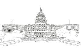 U.S. Capitol Stock Image