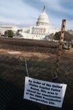 U.S. Capitol Before the Obama Inauguration Stock Photos