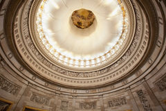 U.S. Capitol Rotunda ceiling Stock Photo
