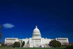 U.S. Capitol on a sunny day Royalty Free Stock Photography
