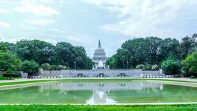 U.S. Capitol, Washington (US). United States Capitol photographed with its close nature Royalty Free Stock Photos