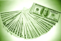 U.S. Cash Royalty Free Stock Photo