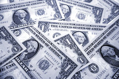 U.S. cash Royalty Free Stock Image