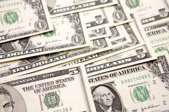 U.S. cash Royalty Free Stock Photo