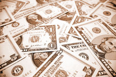 U.S. cash royalty free stock image