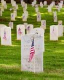 U.S. cemitério dos veteranos de guerra Fotografia de Stock Royalty Free