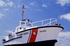 U.S. Coast Guard Motor Lifeboat Stock Photo