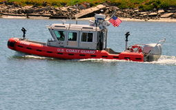 U.S. Coast Guard Patrol Boat Stock Photography
