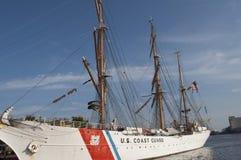 U.S. Coast Guard Tall Ship, The Eagle Stock Photo