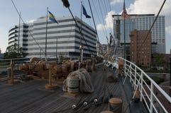 U.S. Coast Guard Tall Ship, The Eagle Royalty Free Stock Photo