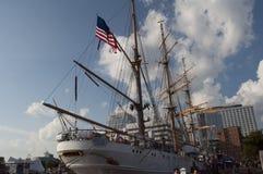 Free U.S. Coast Guard Tall Ship, The Eagle Royalty Free Stock Image - 78253916