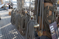 Free U.S. Coast Guard Tall Ship, The Eagle Royalty Free Stock Images - 78254059