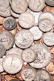 U.S. coins stock photo