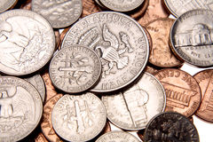 U.S. coins Stock Images