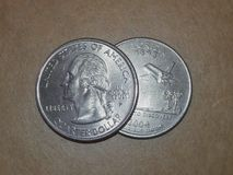 U.S. Commemorative Statehood Quarter : Florida Royalty Free Stock Photo