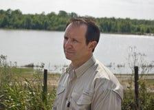 U.S. Congressista Jeff Landerico Foto de Stock Royalty Free