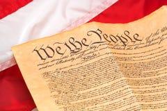 U.S. Constitución Fotos de archivo