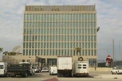 U.S. Consulate (Embassy) in Havana, Cuba Royalty Free Stock Photos