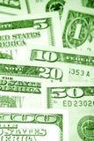 U.S. contant geld stock afbeeldingen