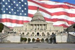 U.S. Costruzione di Campidoglio Immagini Stock
