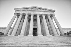 U S court supreme Στοκ Φωτογραφία