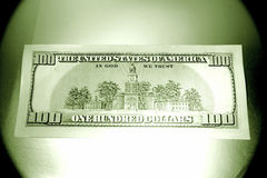 U.S. currency hundred dollars Royalty Free Stock Image