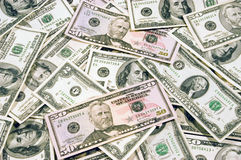 U.S. Currency II Royalty Free Stock Image