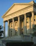 U. S. Custom House, superb Roman Revival building. Historic 19th century United States Custom House in Charleston, South Carolina; built 1853 to 1879 Stock Photos