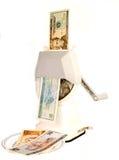 U.S. Dólar à conversão de Yuan Fotos de Stock Royalty Free