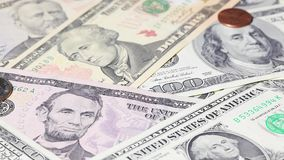 U S Dólares caer almacen de video