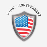U.S.A D-Day background Royalty Free Stock Images