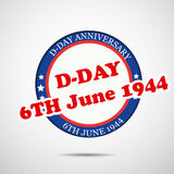 U.S.A D-Day background Stock Image