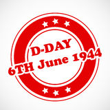 U.S.A D-Day background Stock Photo