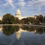 U.S. De Bouw van het Capitool Stock Fotografie