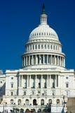 U.S. De bouwkoepel van het Capitool stock afbeelding