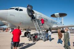 U S De Luchtmachtlucht toont in Tucson, Arizona Stock Foto's