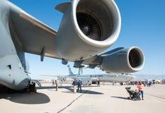U S De Luchtmachtlucht toont in Tucson, Arizona Stock Foto
