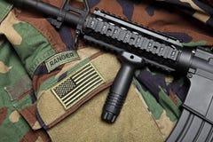 U.S. Del ejército todavía del guardabosques vida Imagen de archivo libre de regalías