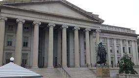 U S Departamento del Tesoro Fotografía de archivo libre de regalías