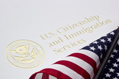 U.S. Department of Homeland Security Logo Royalty Free Stock Image