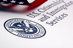 U.S. Department Of Homeland Security Logo Royalty Free Stock Images