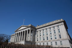 U.S. Department of The Treasury Royalty Free Stock Photography