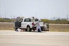 U S Det militära sökandet, räddningsaktion, och evakuerar terroristen Training Arkivbild