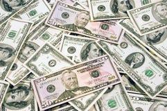 U.S. Dinero en circulación II imagen de archivo libre de regalías