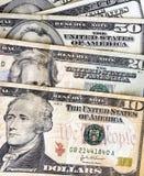 U.S. dinheiro Imagens de Stock