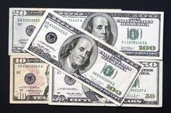 U.S. dinheiro Imagem de Stock