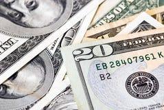 U.S. dinheiro Fotografia de Stock Royalty Free