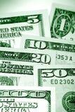 U.S. dinheiro Foto de Stock Royalty Free