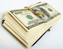 Otwiera pieniężne polisy. Zdjęcia Royalty Free