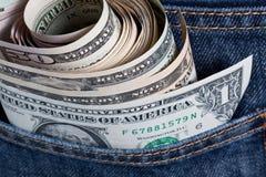 U.S. Dollar Royalty-vrije Stock Foto's
